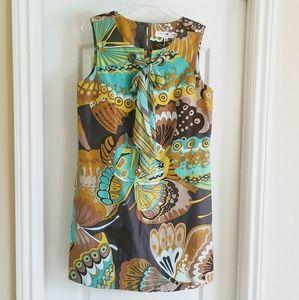 Trina Turk silk/ linen dress